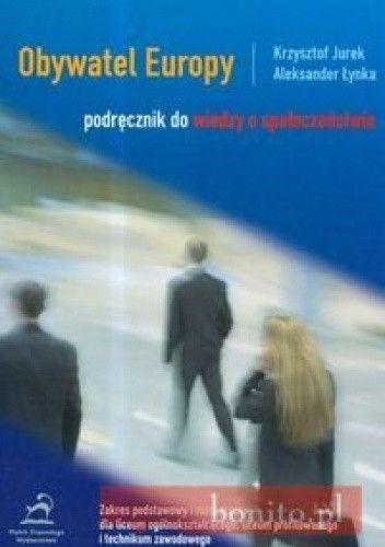 Okładka książki Obywatel Europy podręcznik do wiedzy o społeczeństwie