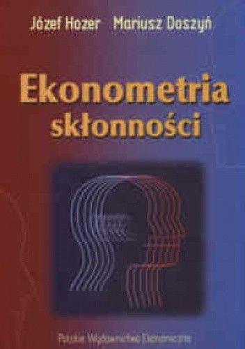 Okładka książki Ekonometria skłonności