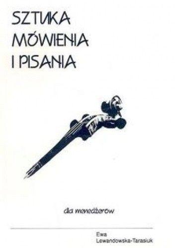 Okładka książki Sztuka mówienia i pisania dla menedżerów