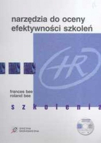 Okładka książki Narzędzia do oceny efektywności szkoleń + KS