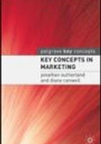 Okładka książki Key Concepts in Marketing