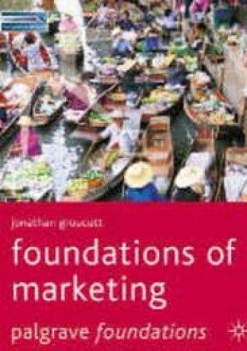 Okładka książki Foundations of marketing