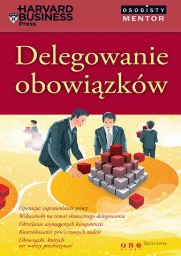 Okładka książki Delegowanie obowiązków