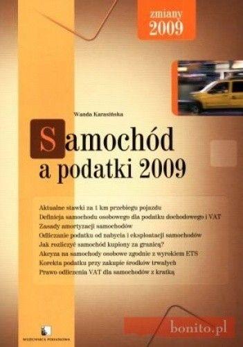 Okładka książki Samochód a podatki 2009