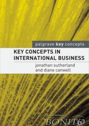 Okładka książki Key Concepts in International Business