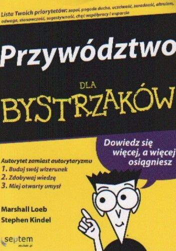 Okładka książki Przywództwo dla bystrzaków