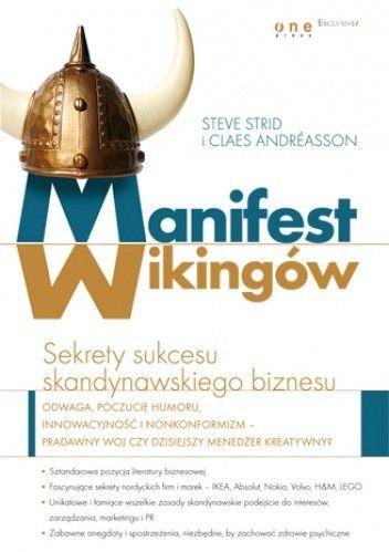 Okładka książki Manifest Wikingów. Sekrety sukcesu skandynawskiego biznesu