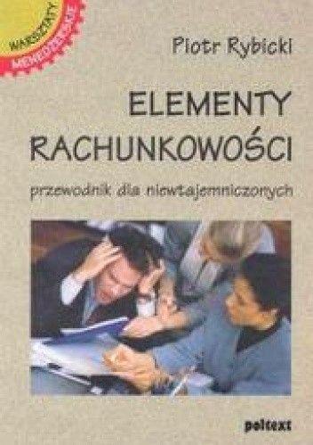 Okładka książki Elementy rachunkowości