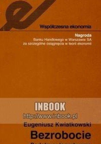 Okładka książki Bezrobocie. Podstawy teoretyczne