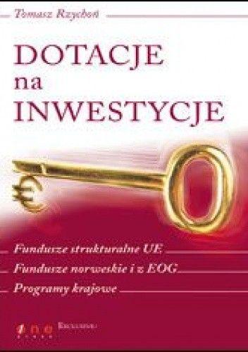 Okładka książki Dotacje na inwestycje