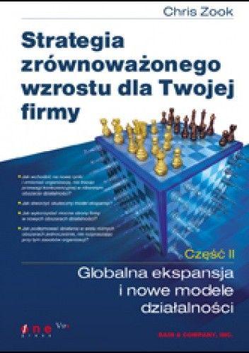 Okładka książki Strategia zrównoważonego wzrostu dla Twojej firmy. Część II: Globalna ekspansja i nowe modele działalności
