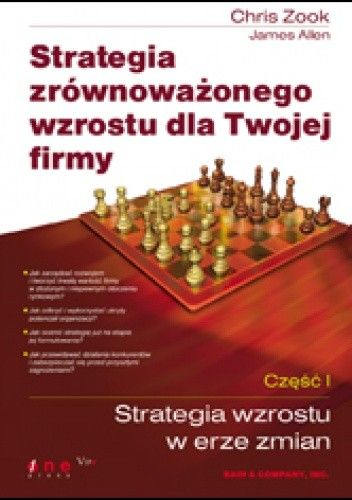 Okładka książki Strategia zrównoważonego wzrostu dla Twojej firmy. Część I: Strategia wzrostu w erze zmian