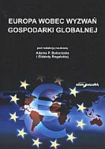 Okładka książki Europa wobec wyzwań gospodarki globalnej