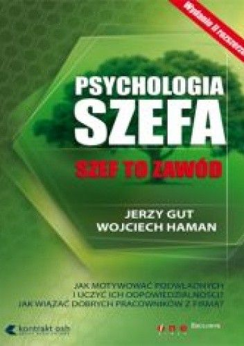 Okładka książki Psychologia szefa. Szef to zawód
