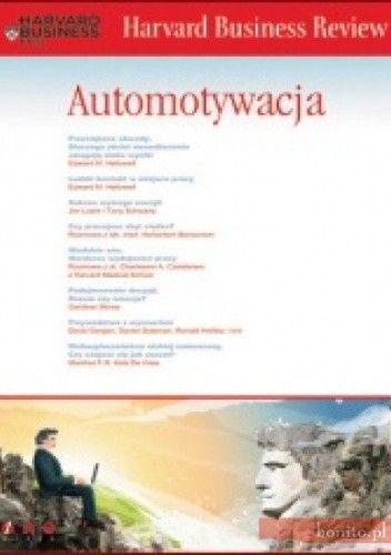 Okładka książki Harvard Business Review. Automotywacja