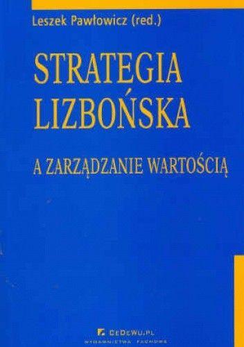Okładka książki Strategia lizbońska a zarządzanie wartością