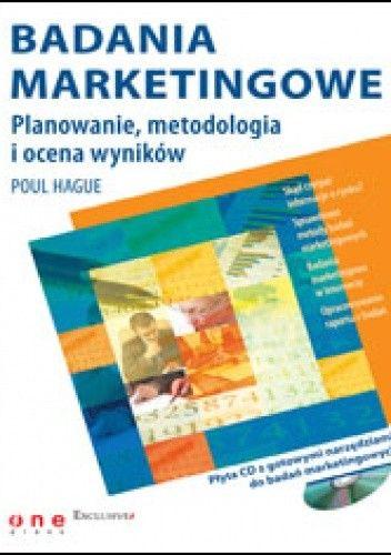 Okładka książki Badania marketingowe. Planowanie, metodologia i ocena wyników