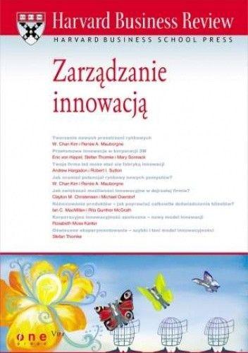 Okładka książki Harvard Business Review. Zarządzanie innowacją