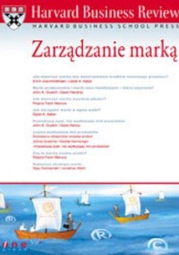 Okładka książki Harvard Business Review. Zarządzanie marką