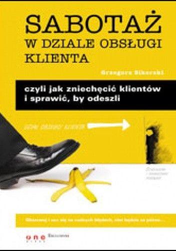 Okładka książki Sabotaż w dziale obsługi klienta