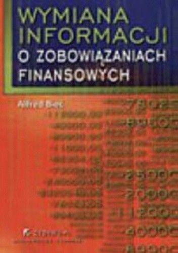 Okładka książki Wymiana informacji o zobowiązaniach finansowych