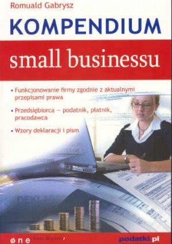 Okładka książki Kompendium small businessu