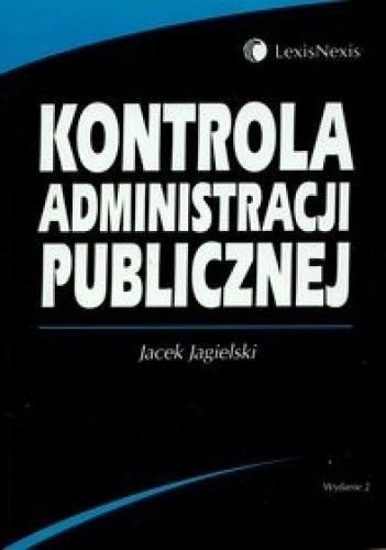 Okładka książki Kontrola administracji publicznej