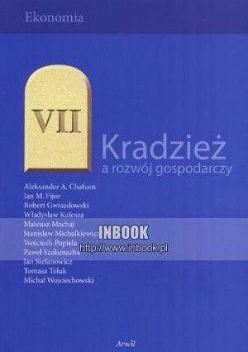 Okładka książki Kradzież a rozwój gospodarczy