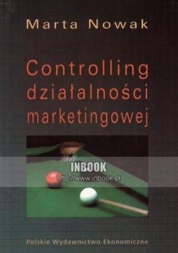 Okładka książki Controlling działalności marketingowej
