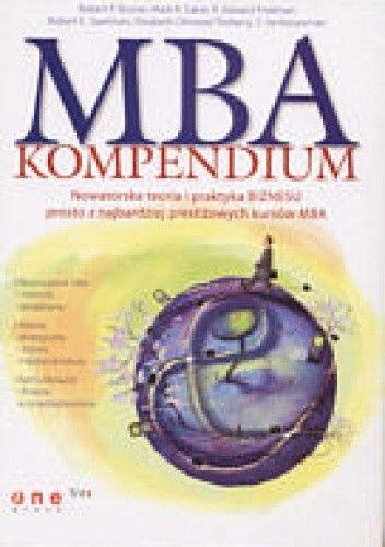 Okładka książki MBA. Kompendium