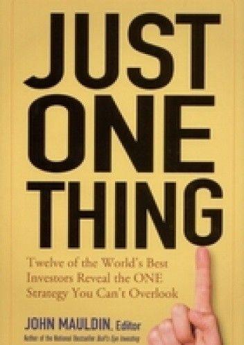 Okładka książki Just One Thing
