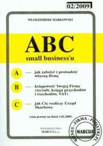 Okładka książki ABC small businessu 2009