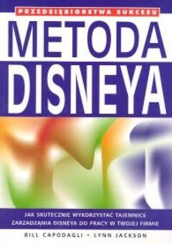 Okładka książki Metoda Disneya
