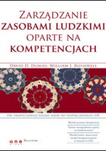 Okładka książki zarządzanie zasobami ludzkimi oparte na kompetencjach