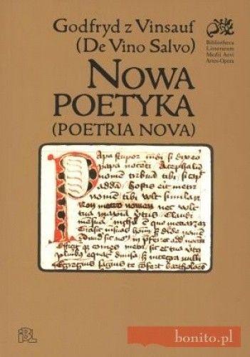 Okładka książki Nowa poetyka (Poetria nova)
