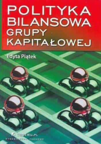 Okładka książki Polityka bilansowa grupy kapitałowej