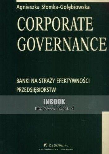 Okładka książki Corporate Governance