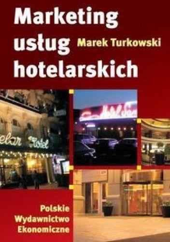 Okładka książki Marketing usług hotelarskich.