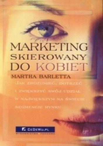 Okładka książki Marketing skierowany do kobiet