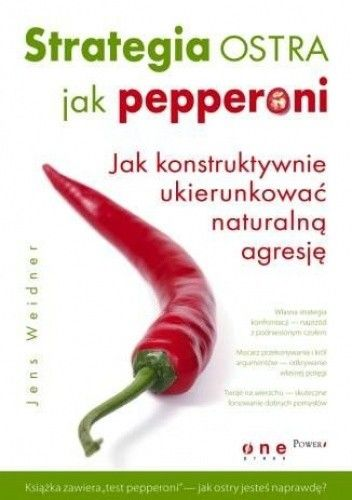 Okładka książki Strategia ostra jak pepperoni