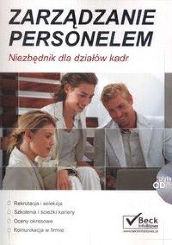 Okładka książki zarządzanie personelem. Niezbędnik dla działów kadr + CD