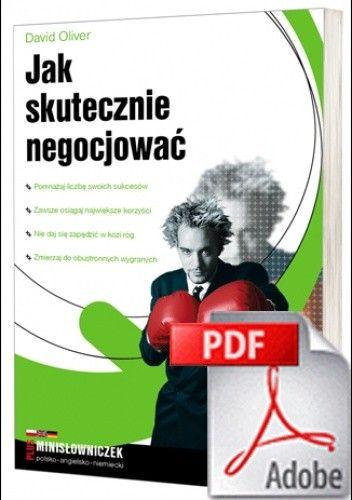 Okładka książki Jak skutecznie negocjować. eBook