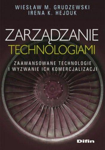 Okładka książki zarządzanie technologiami