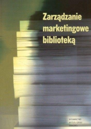 Okładka książki zarządzanie marketingowe biblioteką