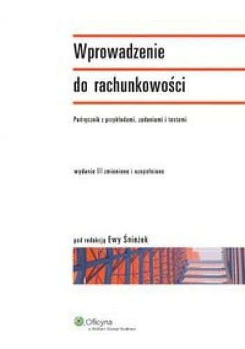 Okładka książki Wprowadzenie do rachunkowości - Podręcznik z przykładami, zadaniami i testami