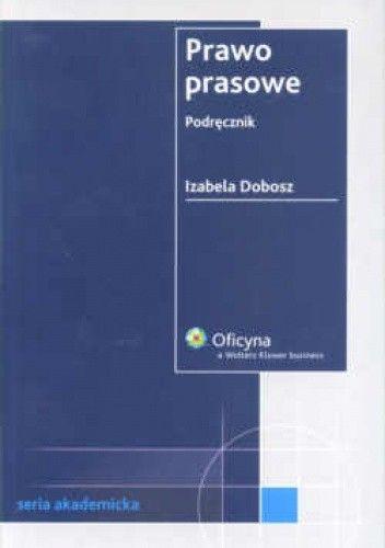 Okładka książki Prawo prasowe