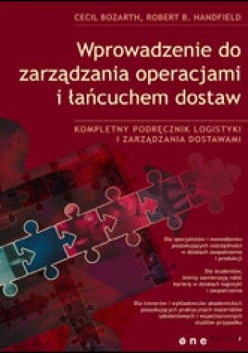 Okładka książki Wprowadzenie do zarządzania operacjami i łańcuchem dostaw