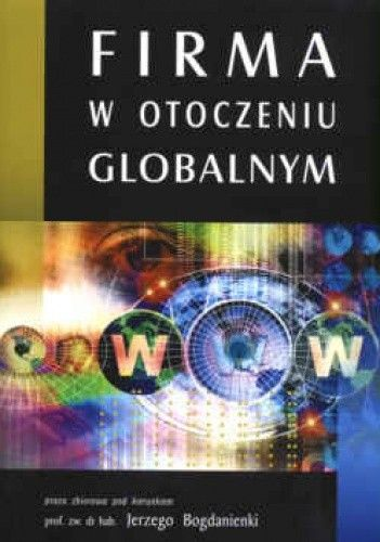 Okładka książki Firma w otoczeniu globalnym
