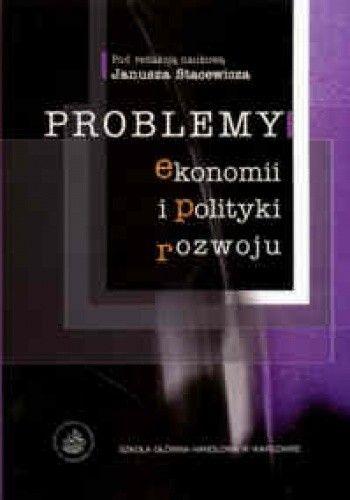 Okładka książki Problemy ekonomii i polityki rozwoju