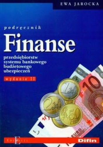 Okładka książki Finanse. Podręcznik